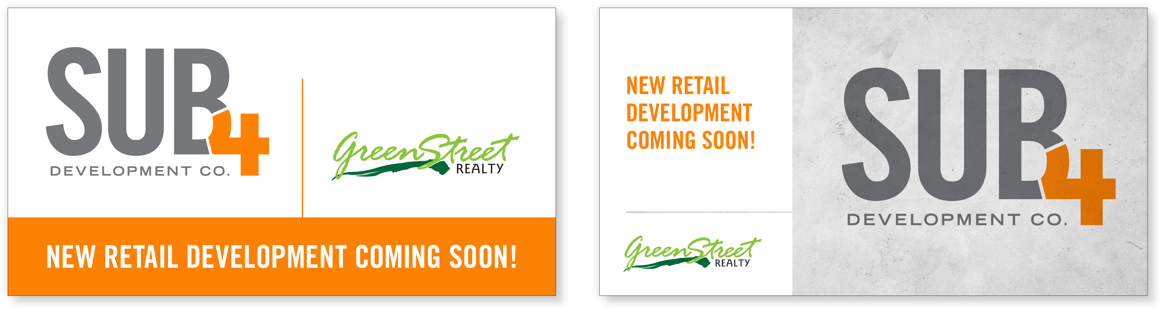 Sub4 Development Company - Branding