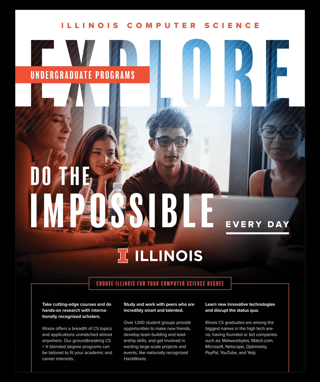 University of Illinois Department of Computer Science | Recruitment Brochure