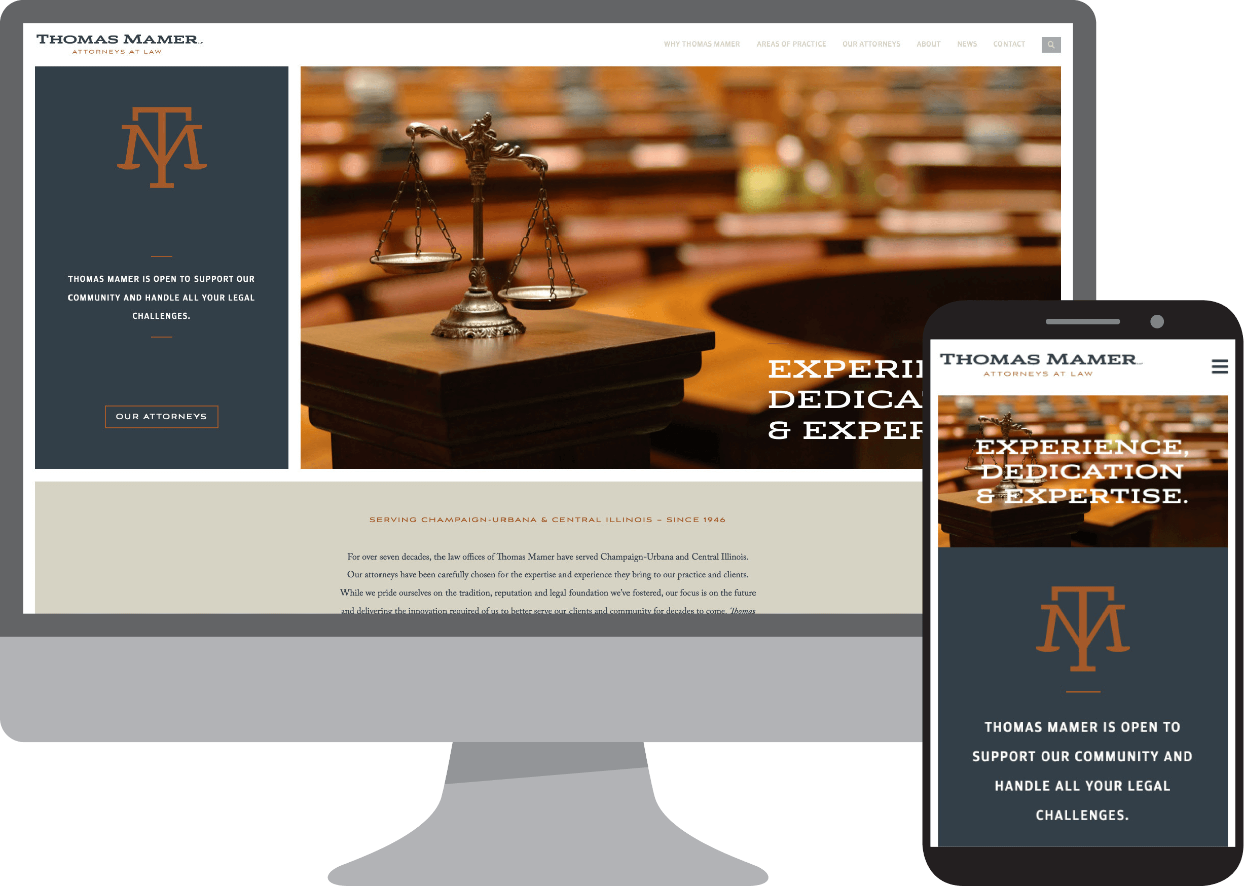 Thomas Mamer - Attorneys at Law - Website