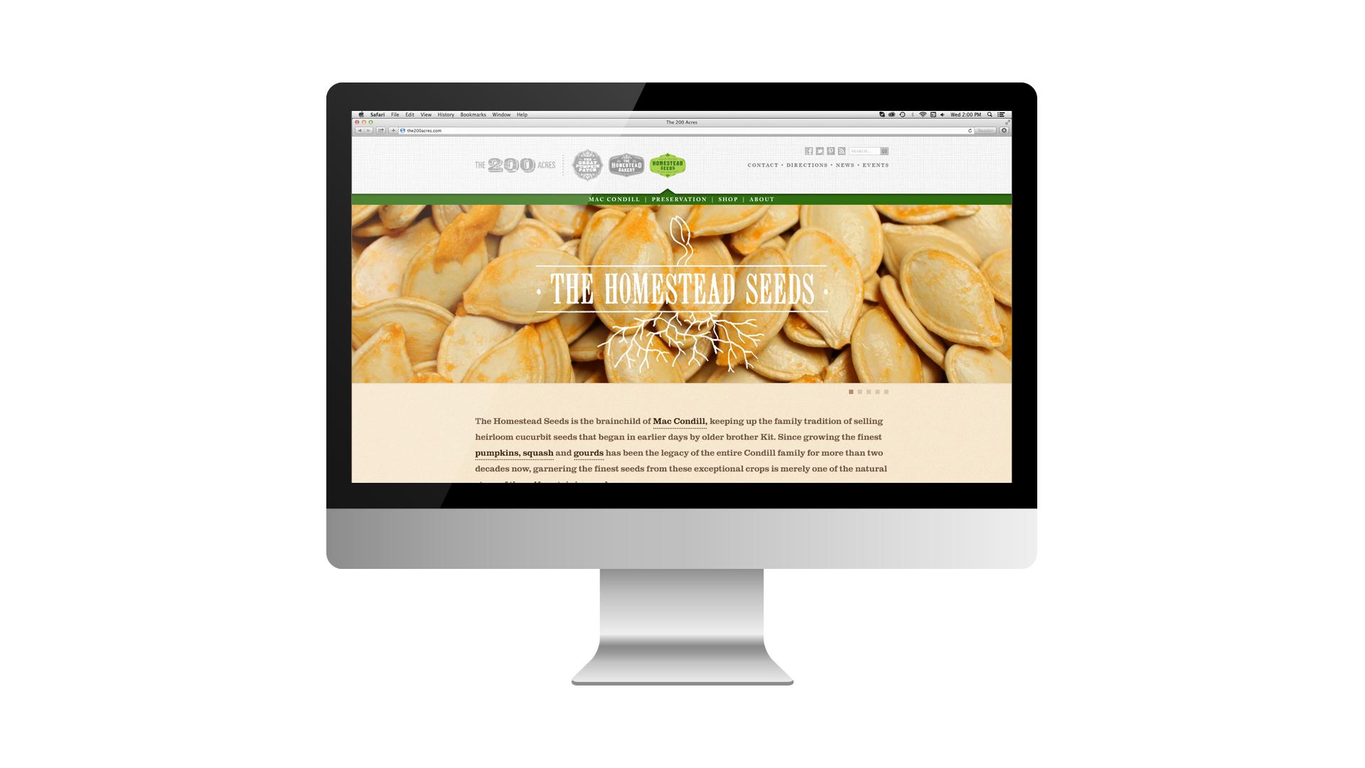 The Homestead Seeds - Arthur, Illinois - Website