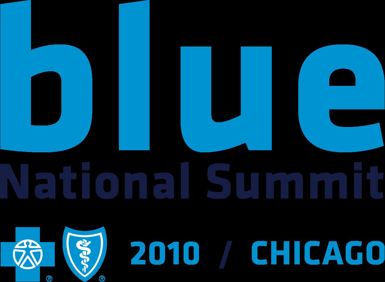 Blue Cross Blue Shield National Summit 2010 - Branding, Graphic Design, Logo