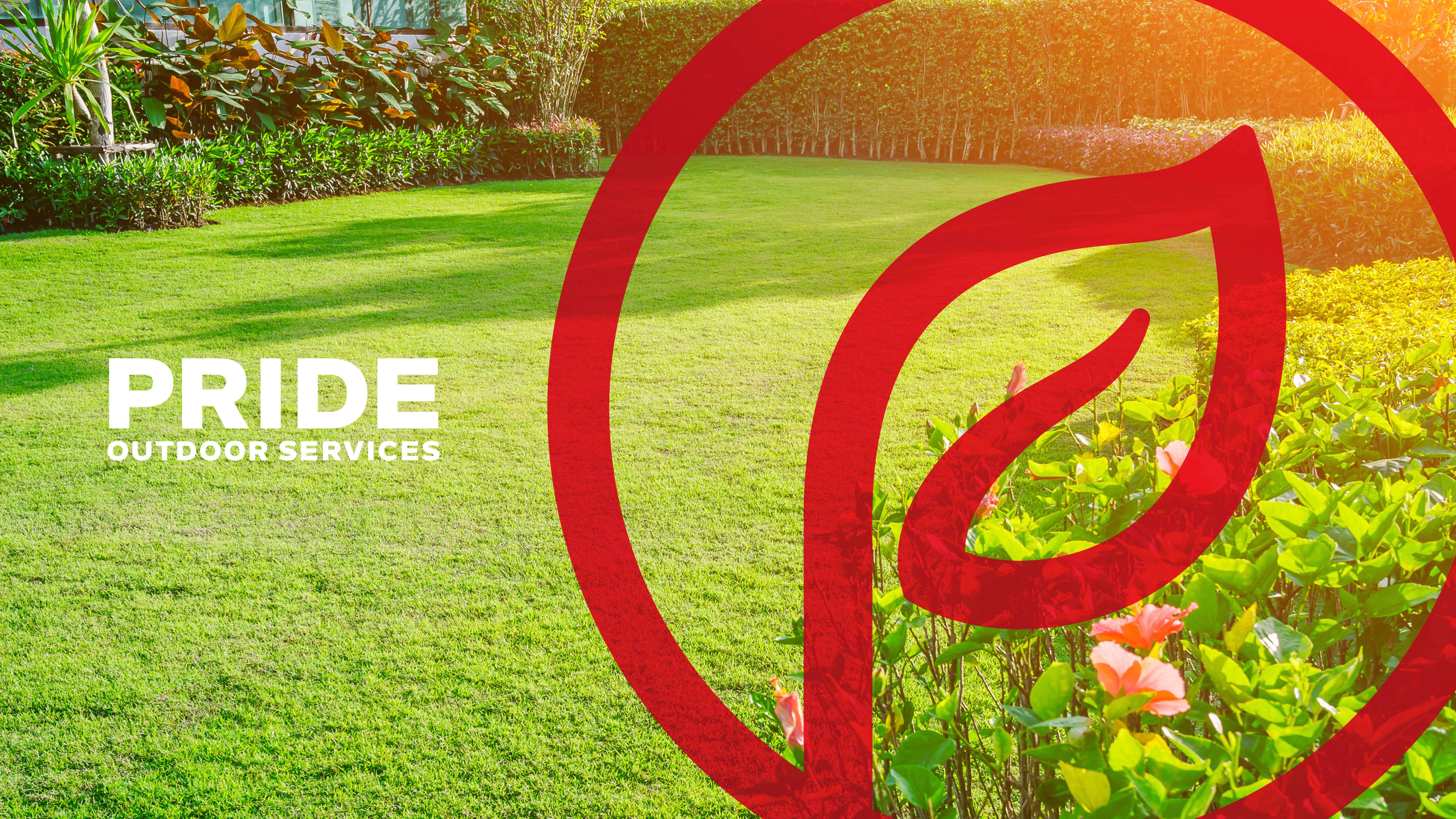 Pride Outdoor Services   New Branding
