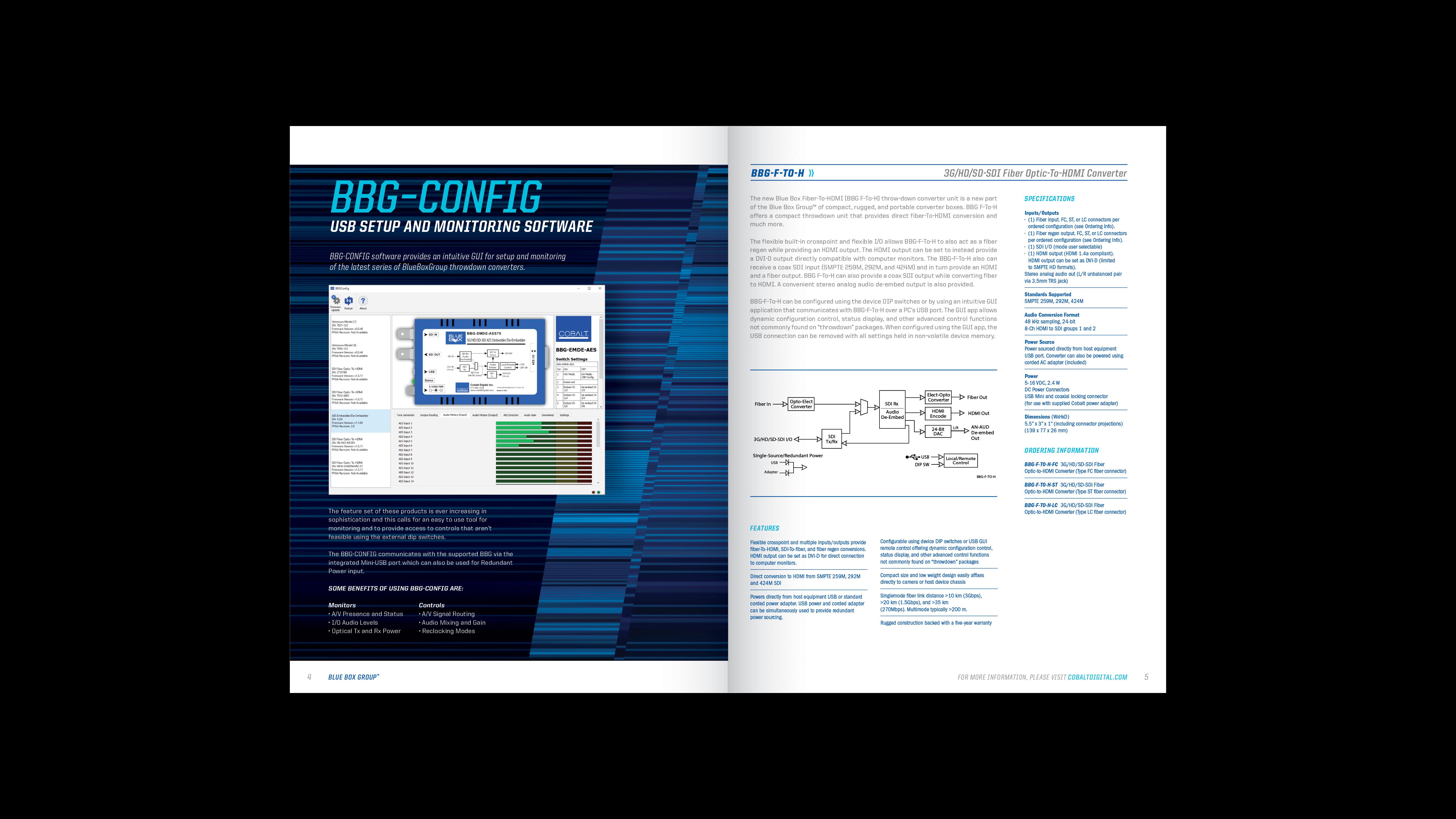 Cobalt Digital | 2020-2021 Blue Box Brochure