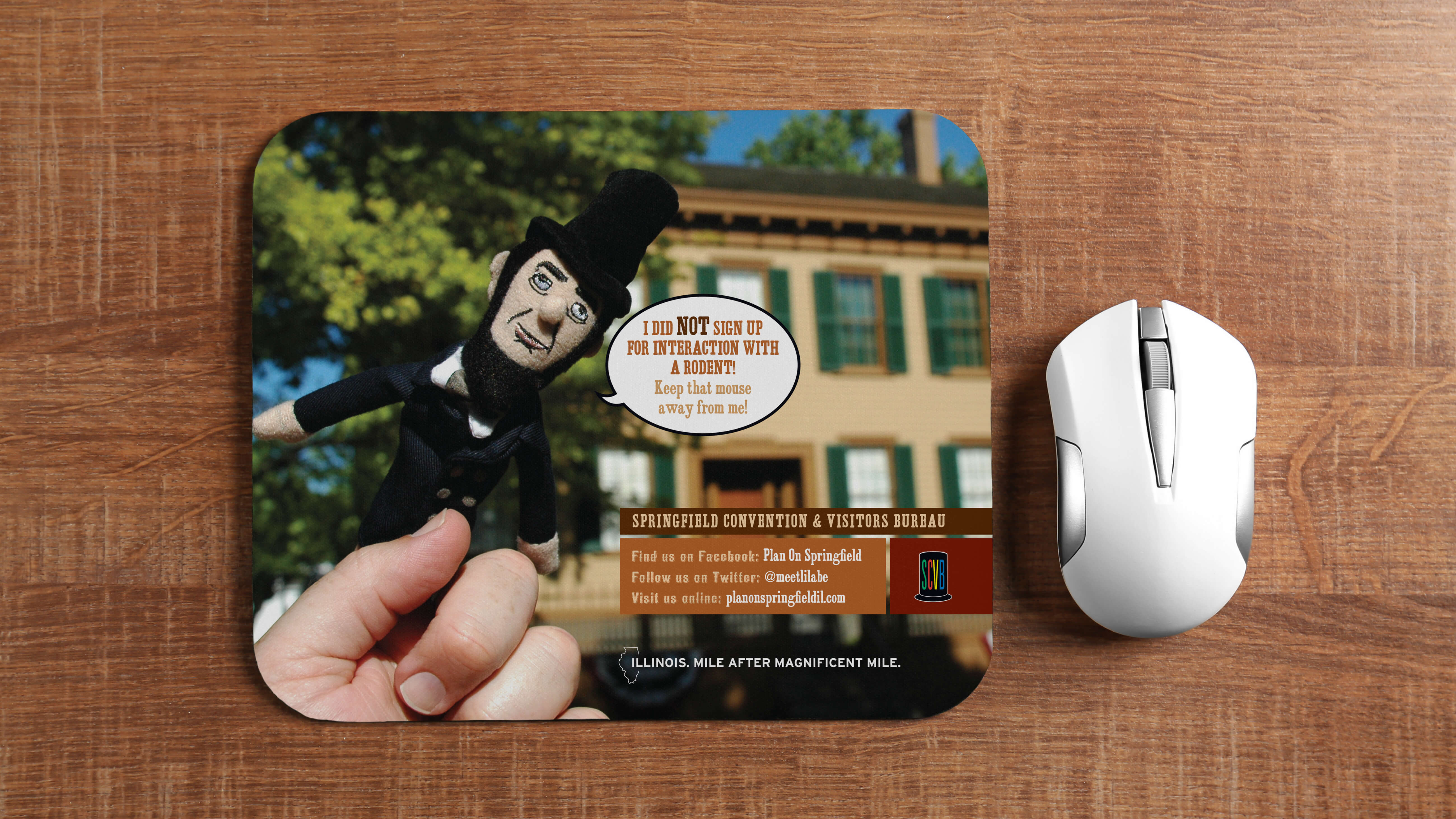 Springfield Convention & Visitors Bureau | Lil' Abe Marketing Campaign