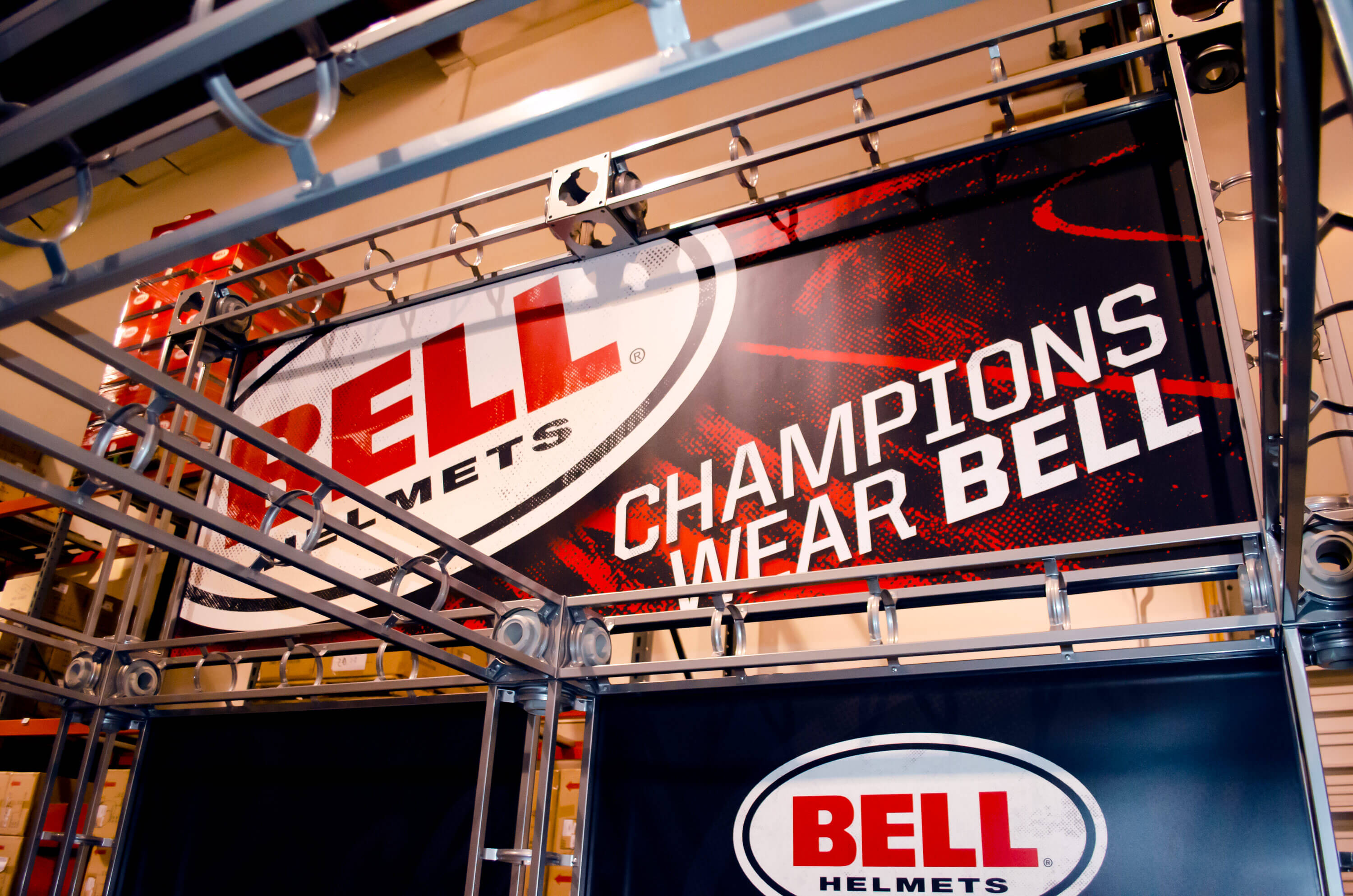 Bell Racing USA - Trade Show Graphics