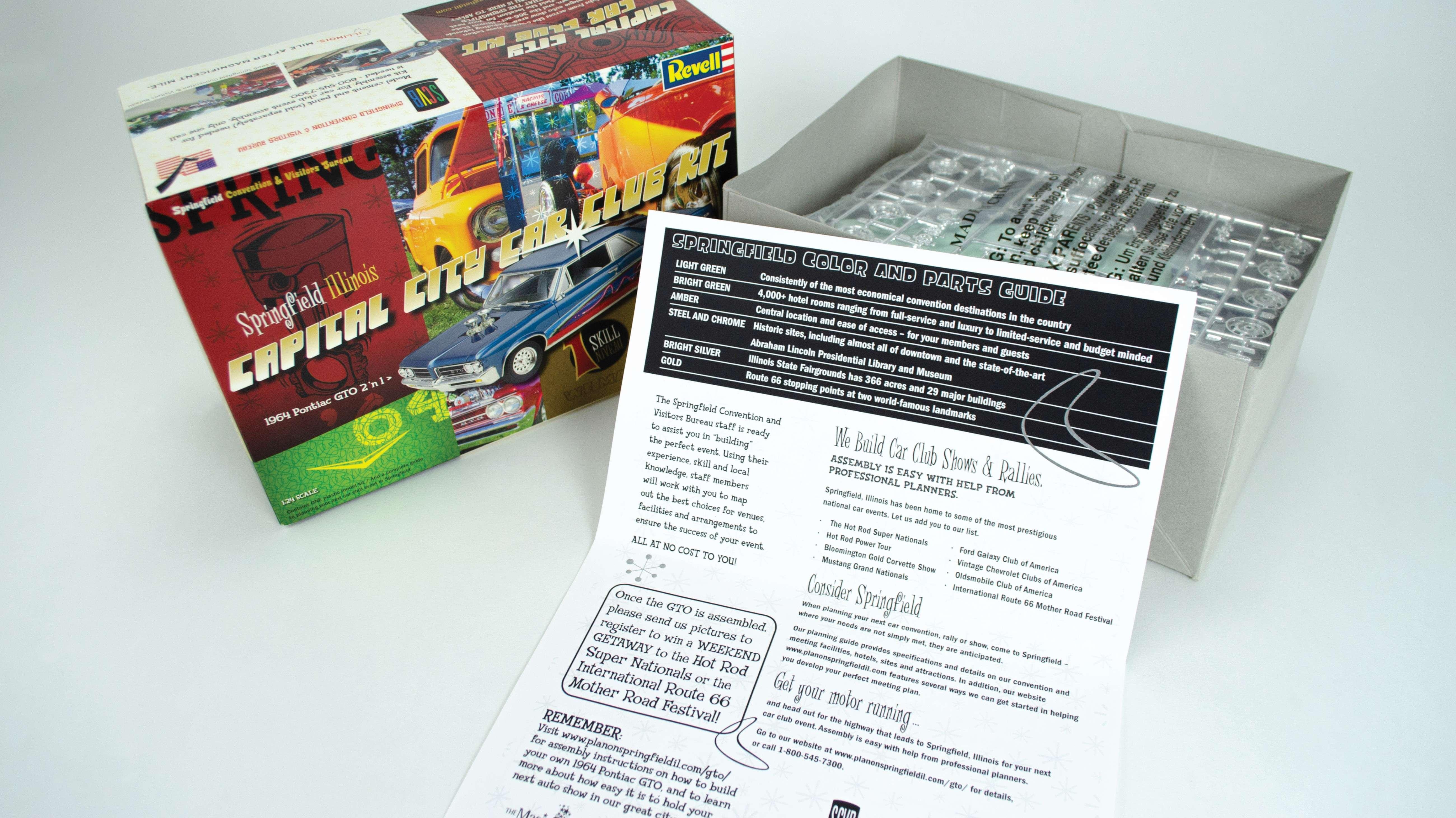 Springfield Convention & Visitors Bureau | Capital City Car Club Kit
