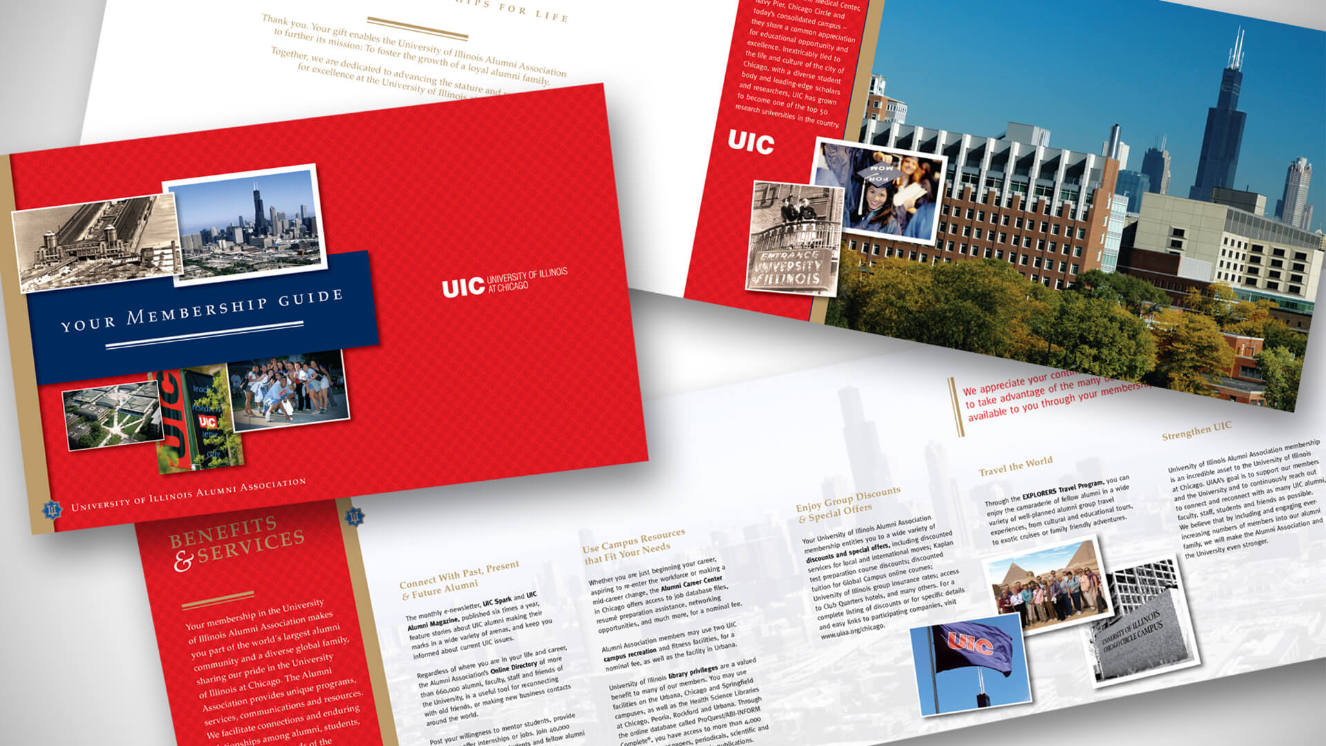 University of Illinois Alumni Association - Membership Brochures