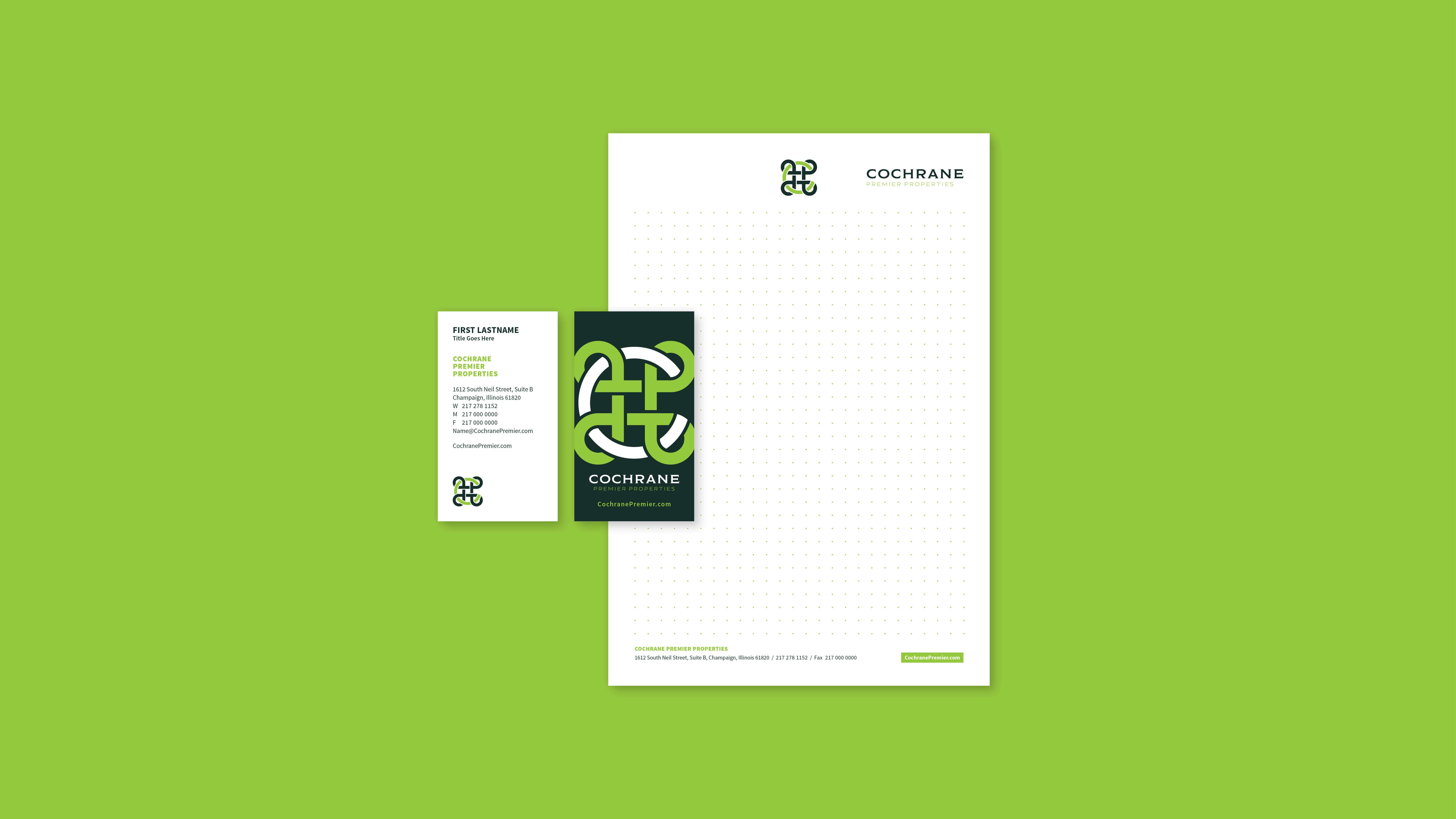 Cochrane Premier Properties | Branding