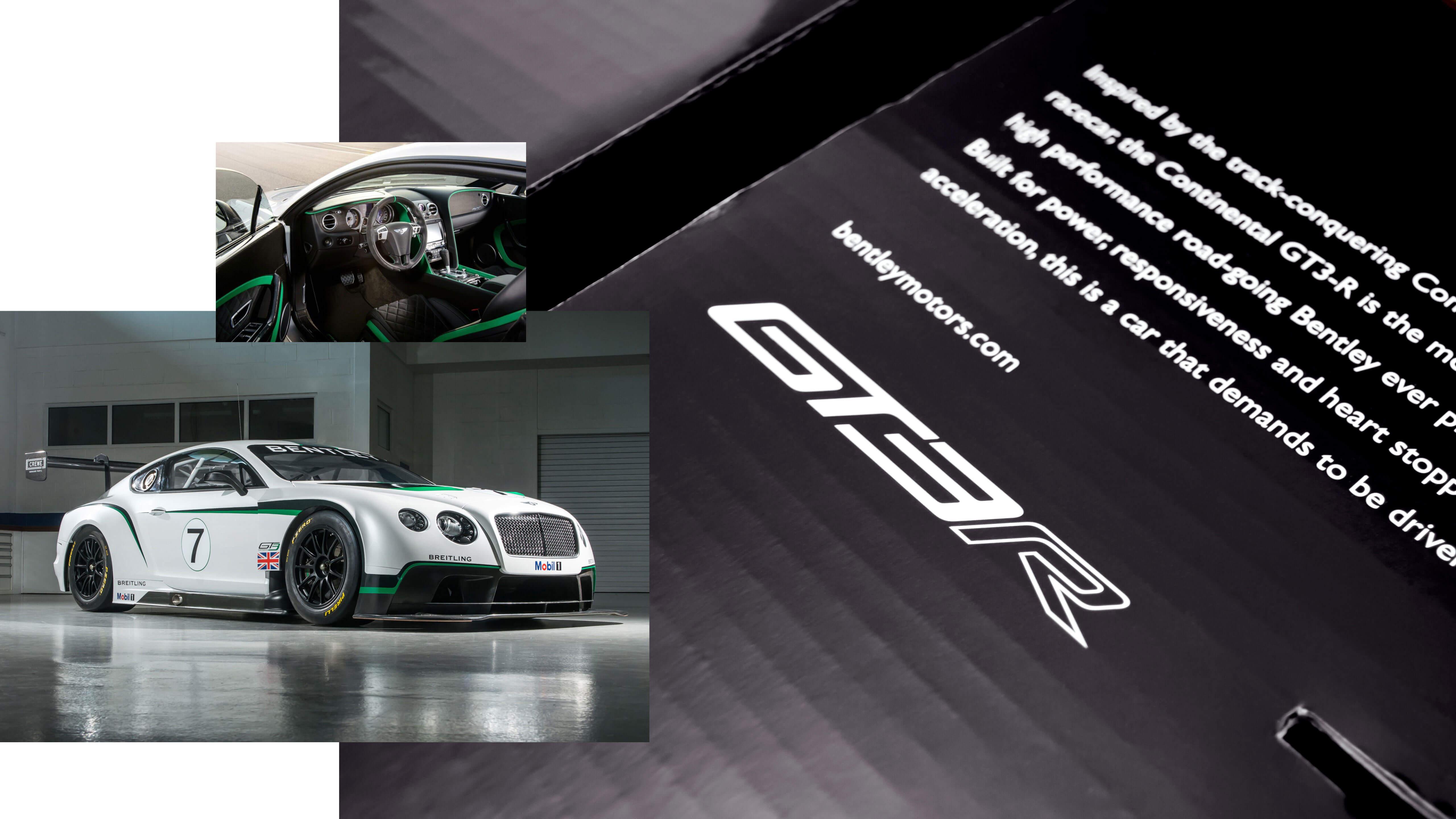 Bell Racing USA | Bentley Helmet Box | Graphic Design