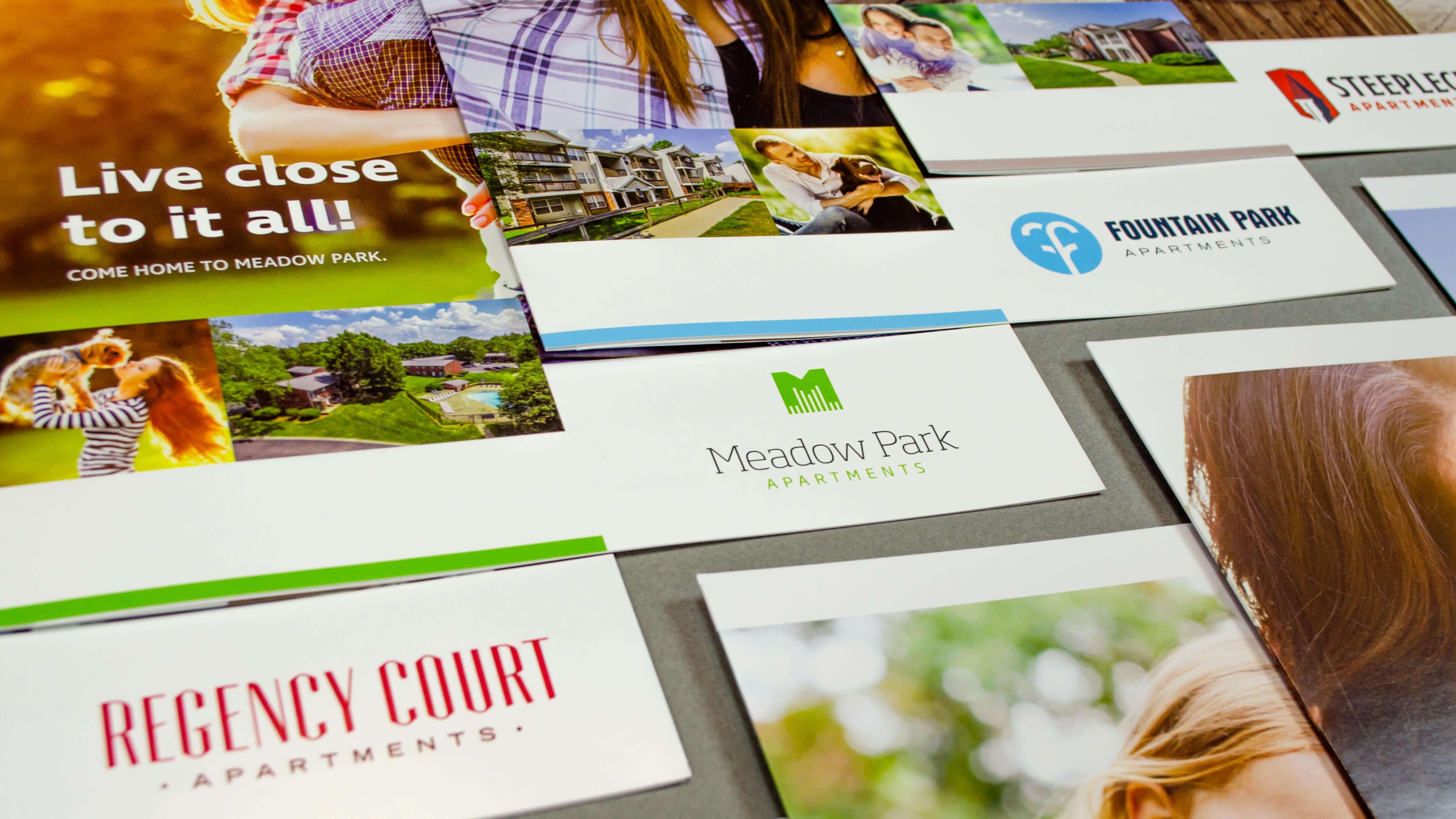 Regency Multifamily - Property Borchures - Graphic Design