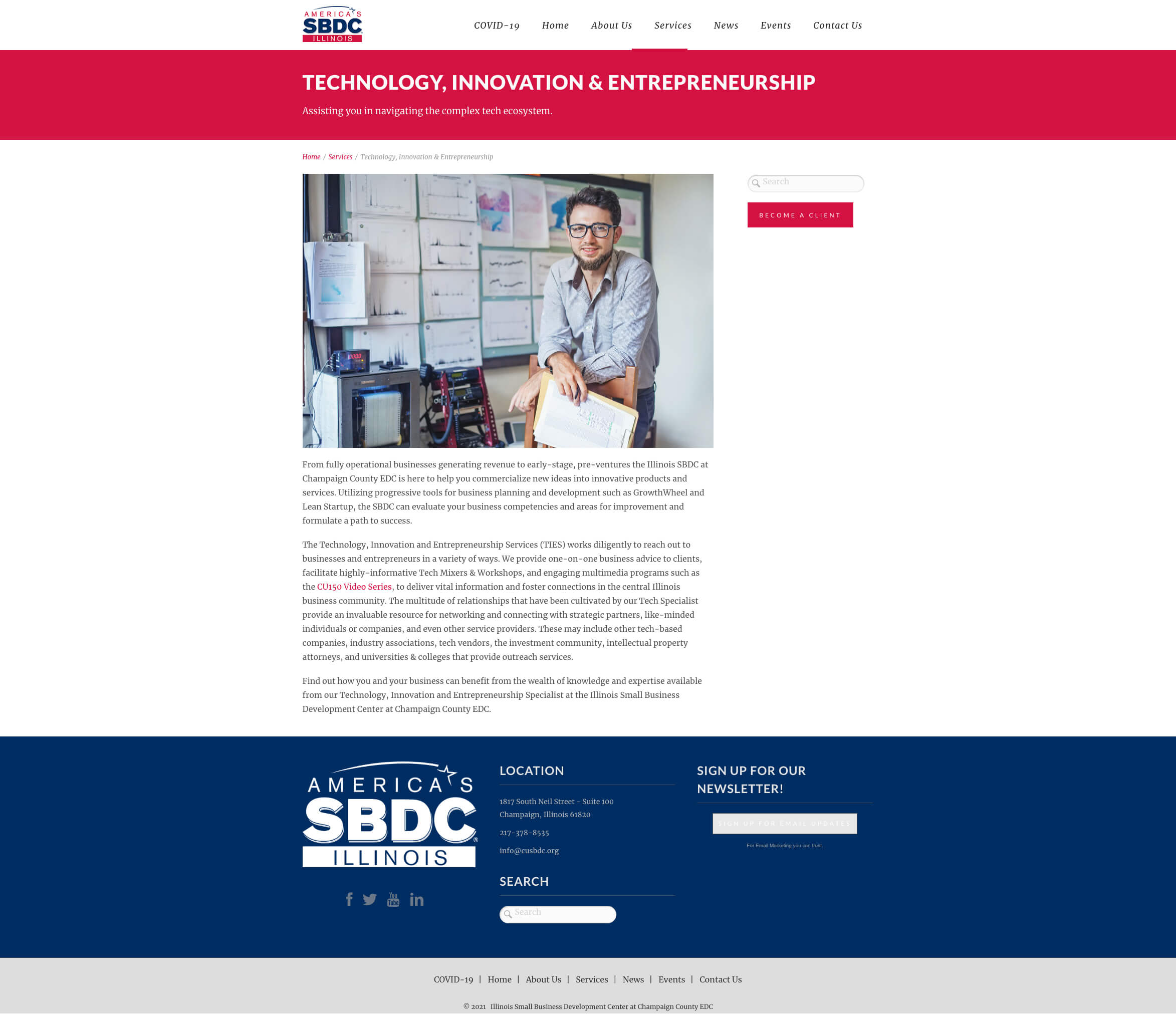 Small Business Development Center | Website